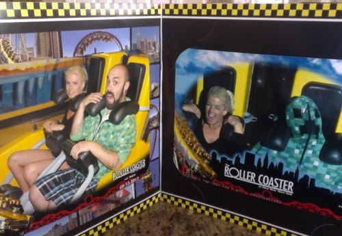 creeper nerdgasm minecraft roller coaster - 7466926336