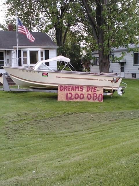 for sale boat regret funny - 7466953216