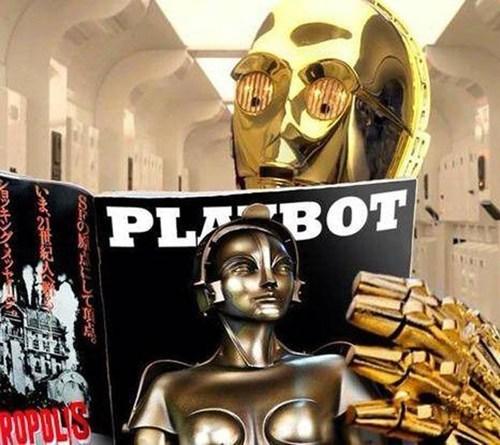 star wars nerdgasm C-3PO pr0n funny - 7467061760