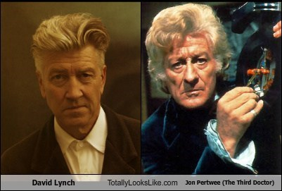 david lynch,jon perwee,totally looks like,doctor who,funny
