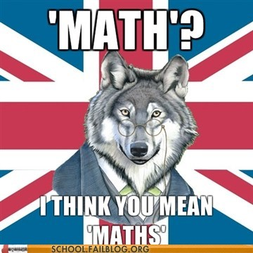 english maths British math funny