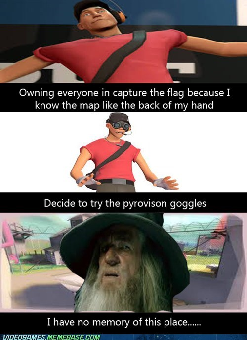 Lord of the Rings Team Fortress 2 Memes funny pyrovision - 7470242304