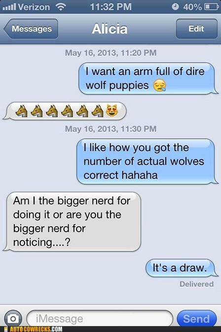 wolves,Game of Thrones,funny,g rated,AutocoWrecks