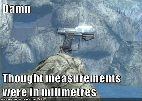 Damn  Thought measurements were in milimetres