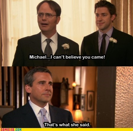 thats what she said the office funny - 7470465792