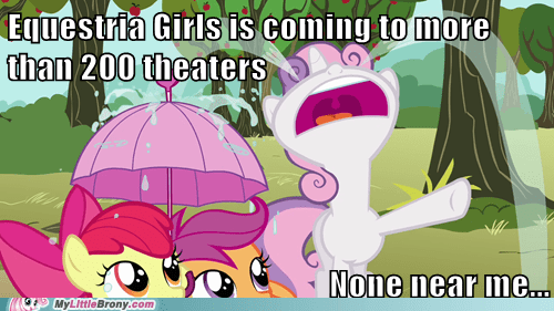 Sad equestria girls movies funny