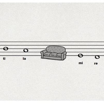 Music sofas puns scales funny g rated