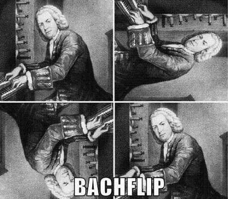 Music puns Bach funny - 7470712576