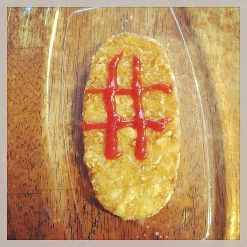 puns hashbrowns hashtag ketchup funny - 7470810368