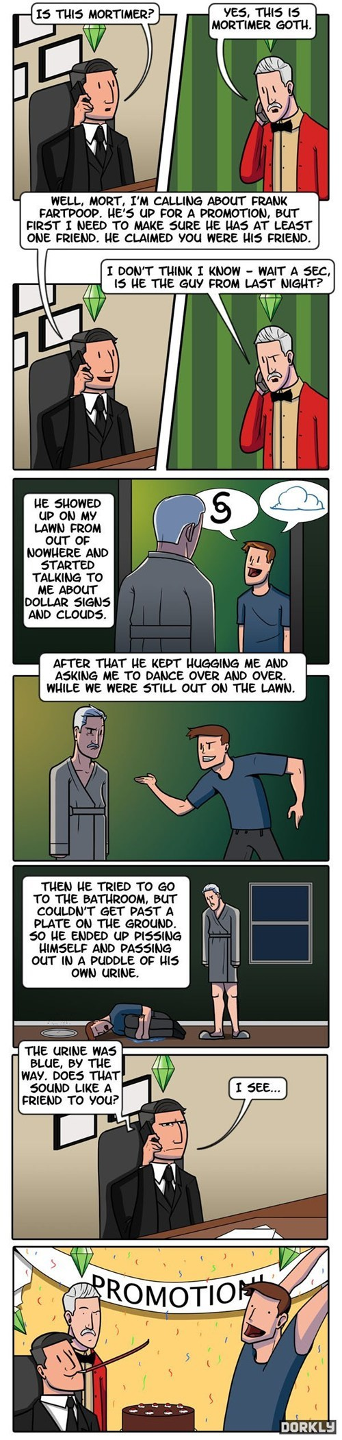 dorkly comics The Sims funny - 7471042560