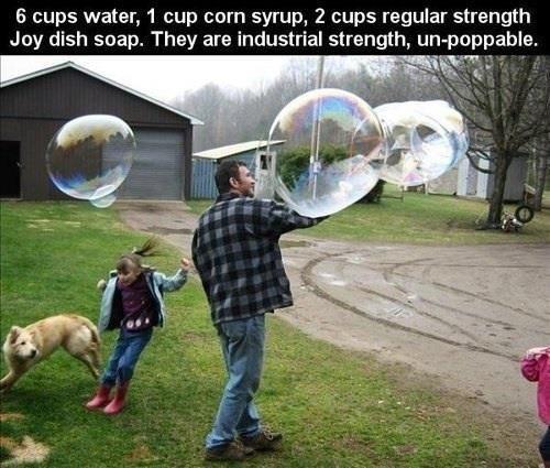 neat bubbles DIY funny - 7471410944