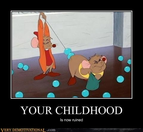 childhood,cinderella,ruined,funny