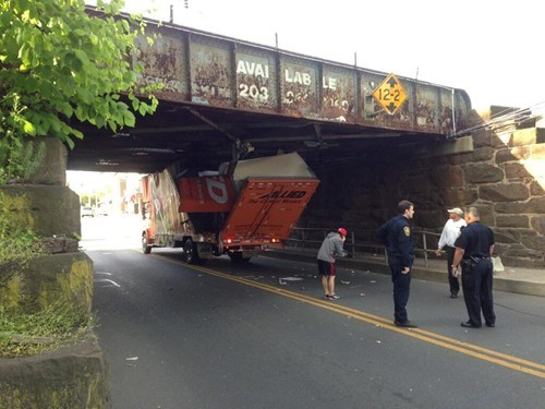 cars truck bridge irony funny - 7472213248