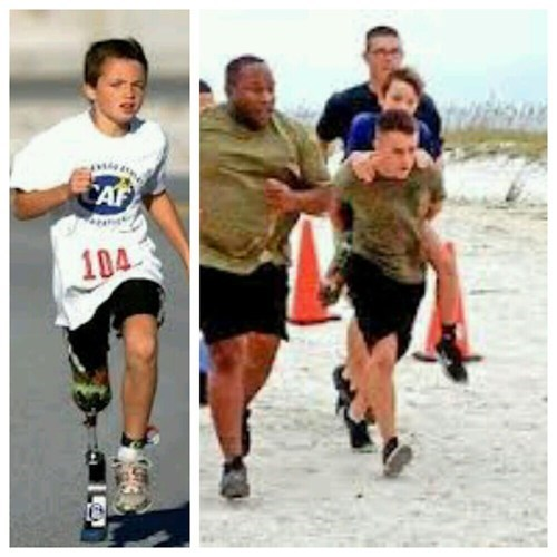random act of kindness marine restoring faith in humanity week marathon