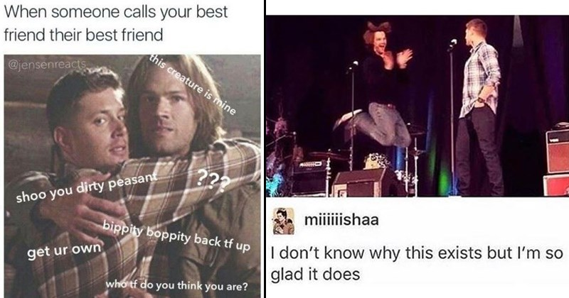 memes from the TV show supernatural