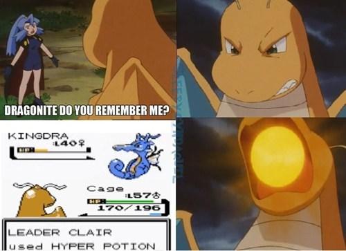 kingdra Pokémon anime dragonite gameplay funny clair - 7472757504