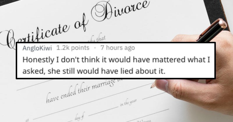 things divorced people wish they knew about their exes