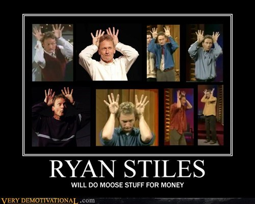 ryan stiles,stuff,moose,funny