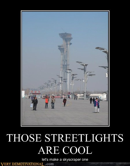 THOSE STREETLIGHTS ARE COOL let's make a skyscraper one