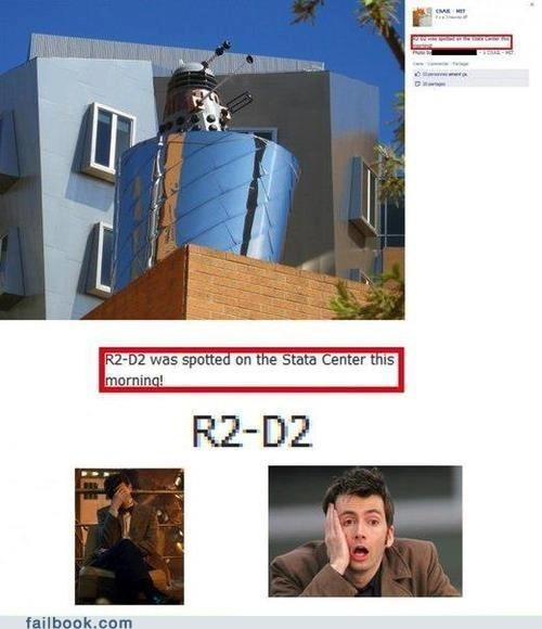 star wars MIT r2-d2 daleks doctor who failbook g rated - 7477263616