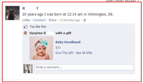 facebook stahp,stahp,birthday gifts,headbands