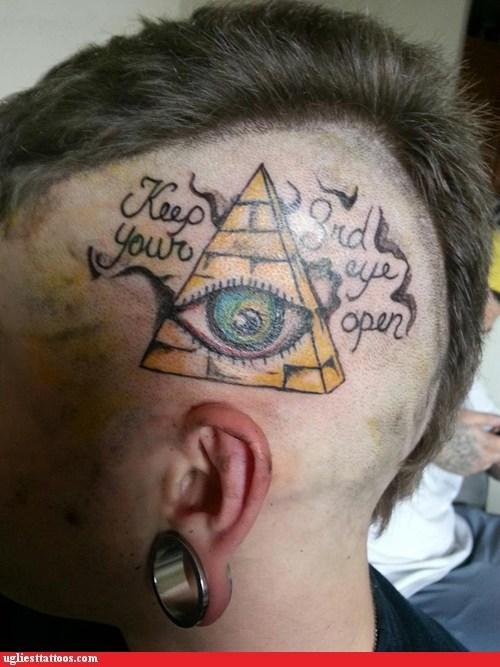wtf pyramids tattoos funny - 7477280000