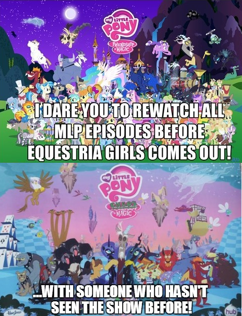 chaos Bronies Challenge Accepted funny - 7477348096