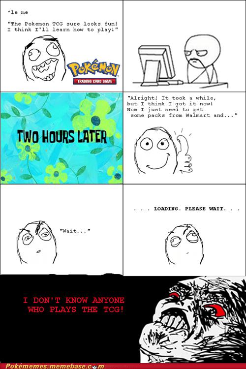 Pokémon TCG funny Rage Comics - 7477436928