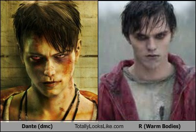 Dante (dmc) Totally Looks Like R (Warm Bodies)