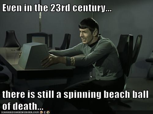 computers macs Star Trek funny - 7479418624