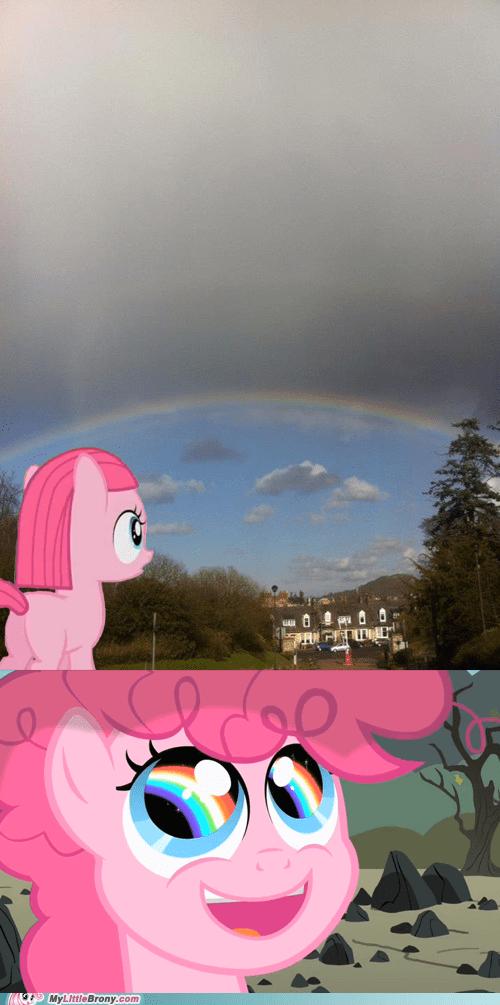rainbows IRL pinkie pie sonic rainboom funny - 7479496960