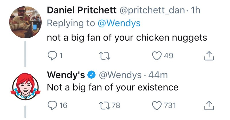 wendy's twitter roasts away to help establish her place in the world