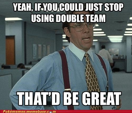 Pokémon double team Memes funny - 7482030080