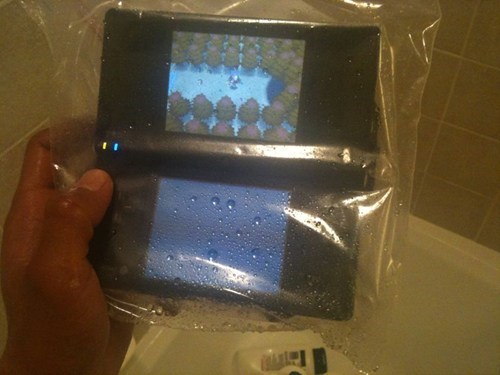 Pokémon gaming video games waterproof showers - 7482358016