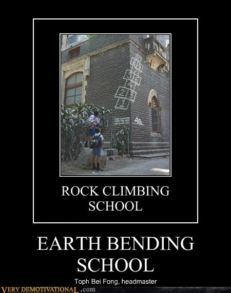 school earth bending avatar last airbender funny toph - 7482504192