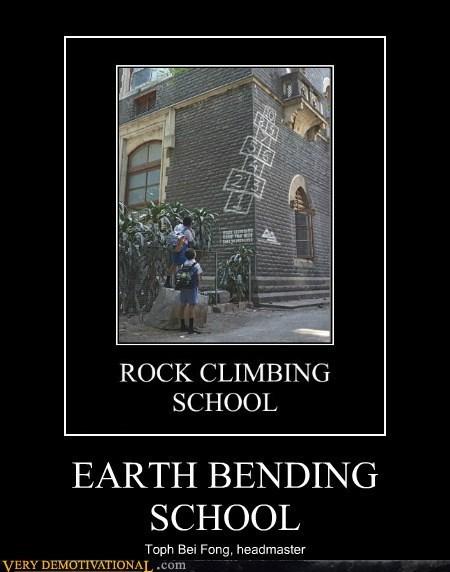 school earth bending avatar last airbender funny toph - 7482504192