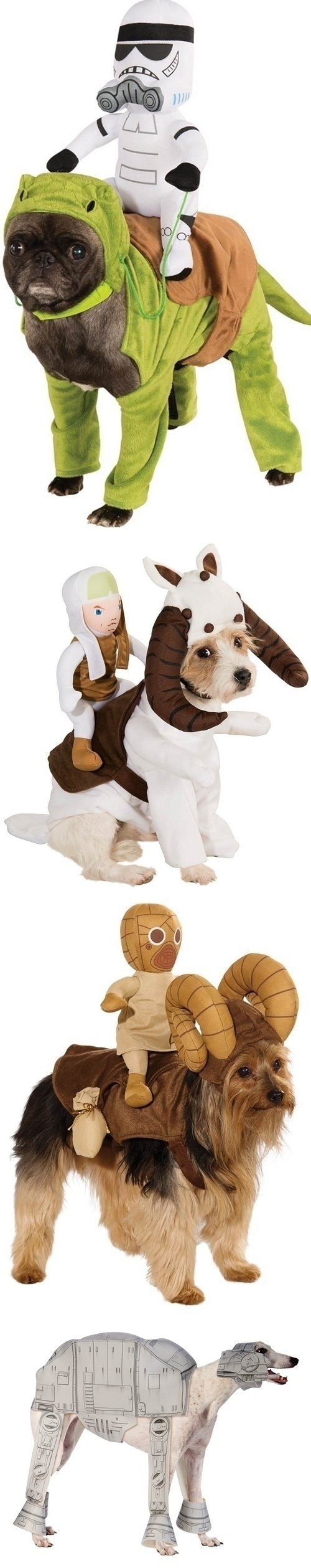 dogs star wars dog costumes