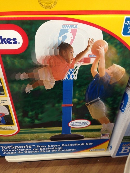 dunks wtf toys kids basketball funny WNBA fail nation g rated - 7482637056