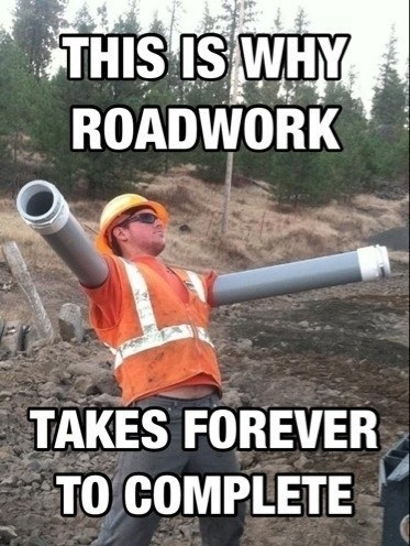 roadwork,construction,funny