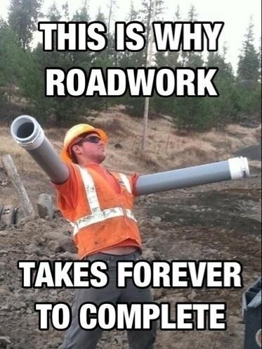 roadwork construction funny - 7482702080