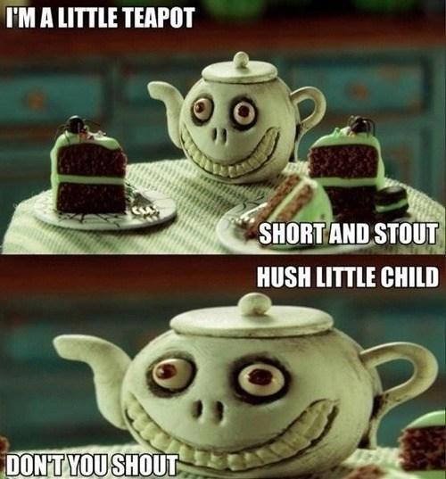 wtf evil teapot funny