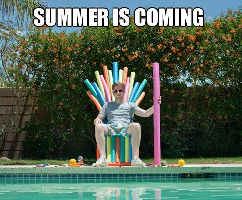 Game of Thrones,swimming,pools,funny