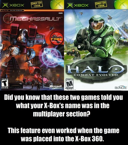 did you know,gaming,xbox,funny