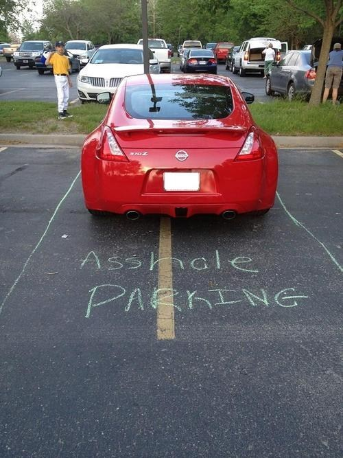 parking space funny parking monday thru friday g rated - 7483077632