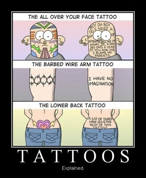 wtf comics tattoos funny - 7483091456