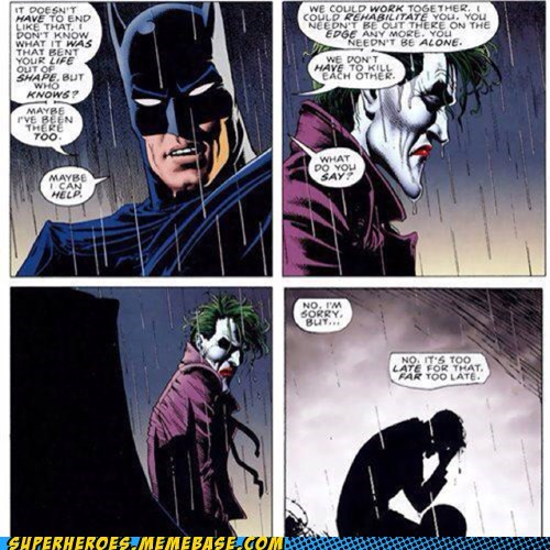 crazy joker off the page batman funny - 7483094528