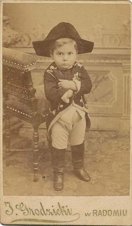 baby costumes napoleon funny