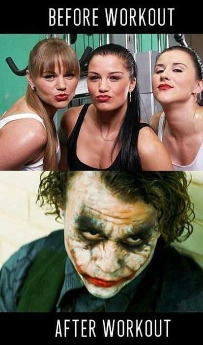makeup,joker,workout,funny,g rated,dating