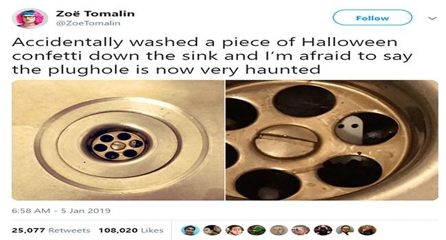twitter halloween ghosts confetti - 7484165