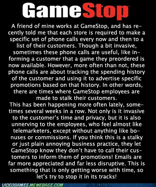 wtf gamestop phone stalking - 7484462592